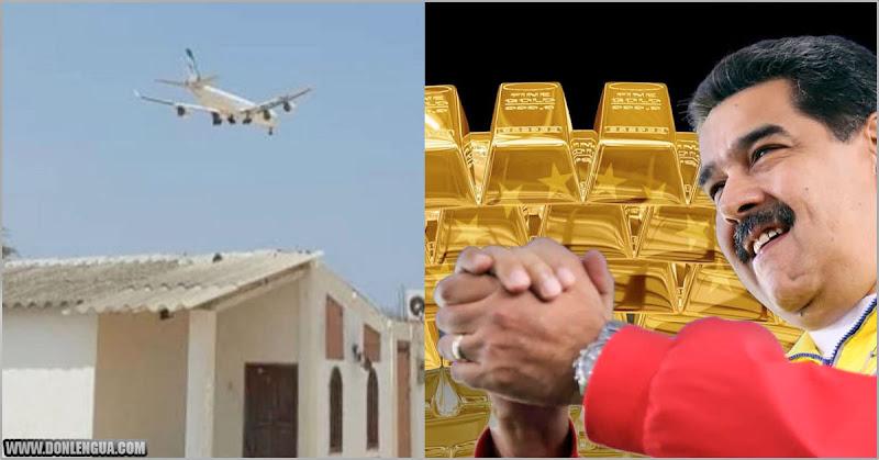 Otro avión iraní llega desde Argelia para buscar Oro y Drogas del Cartel de los Soles