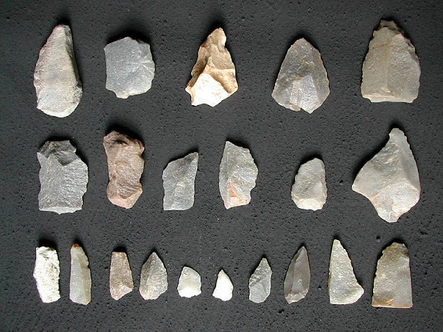 Mesolithic Age Tools (Microliths)