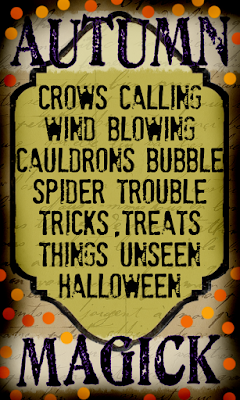 old time halloween poem by the merry needle