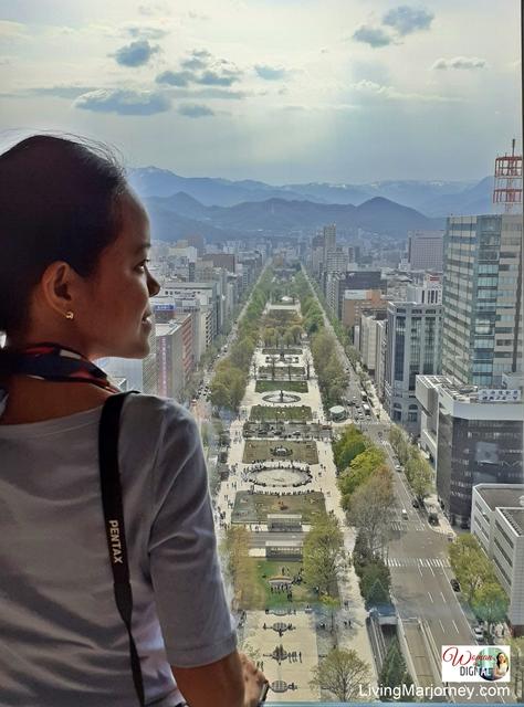 Sapporo Tower, Hokkaido Japan May 2019