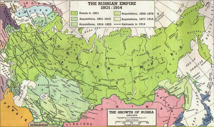 The Russian Empire Were Segregated 17