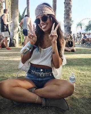 Outfit hippie coachella