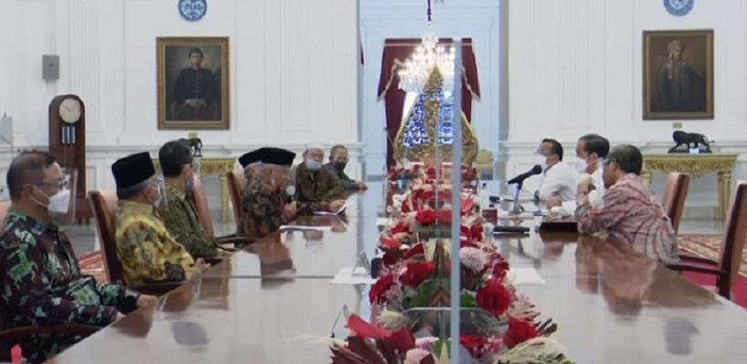 Temui Presiden di Istana, TP3 Ingin Kasus KM 50 Dibawa Ke Pengadilan HAM