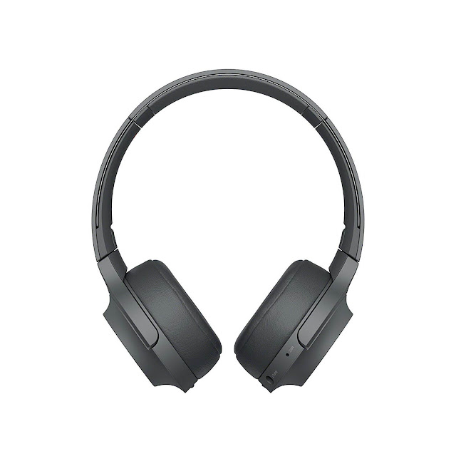 Sony WH-H800 Bluetooth On-Ear High-Resolution Headphone Black