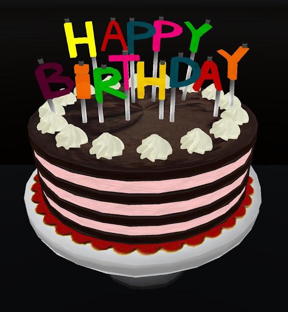 Arsvivendi Happy Birthday Cake