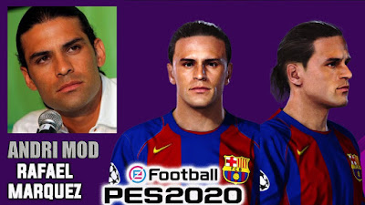 PES 2020 Faces Rafael Marquez by Andri Mod