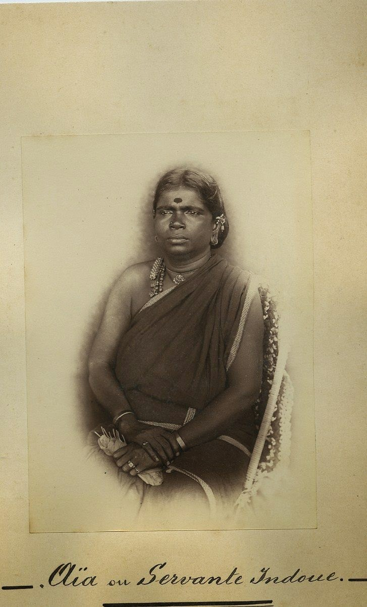 An Indian Female Domestic Helper - c1870's