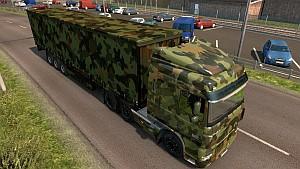 Army 50k DAF XF + new trailer