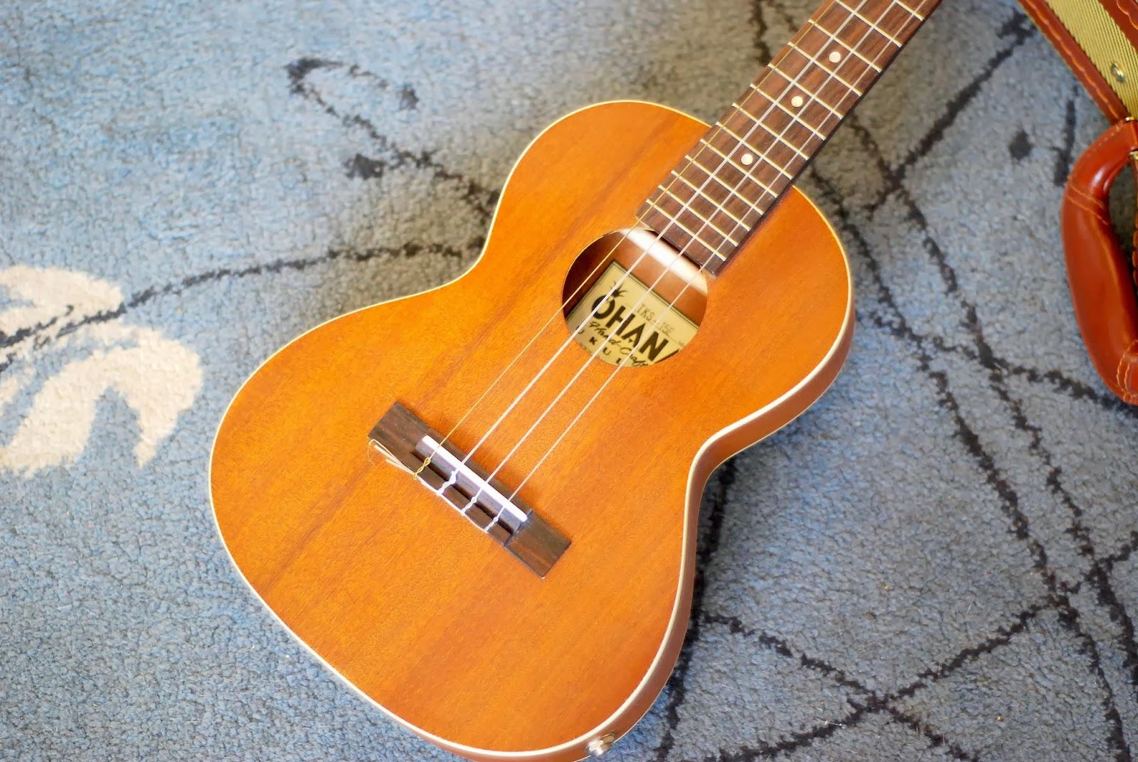 Ohana TKS-15E ukulele body