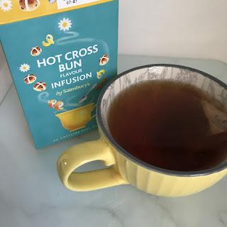 sainsburys hot cross bun tea