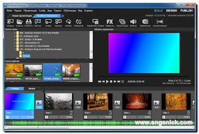 ProShow Producer 9.0.3782 - Добавим другие слайды и музыку