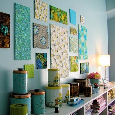 Un tapiz es un gran recurso para decorar