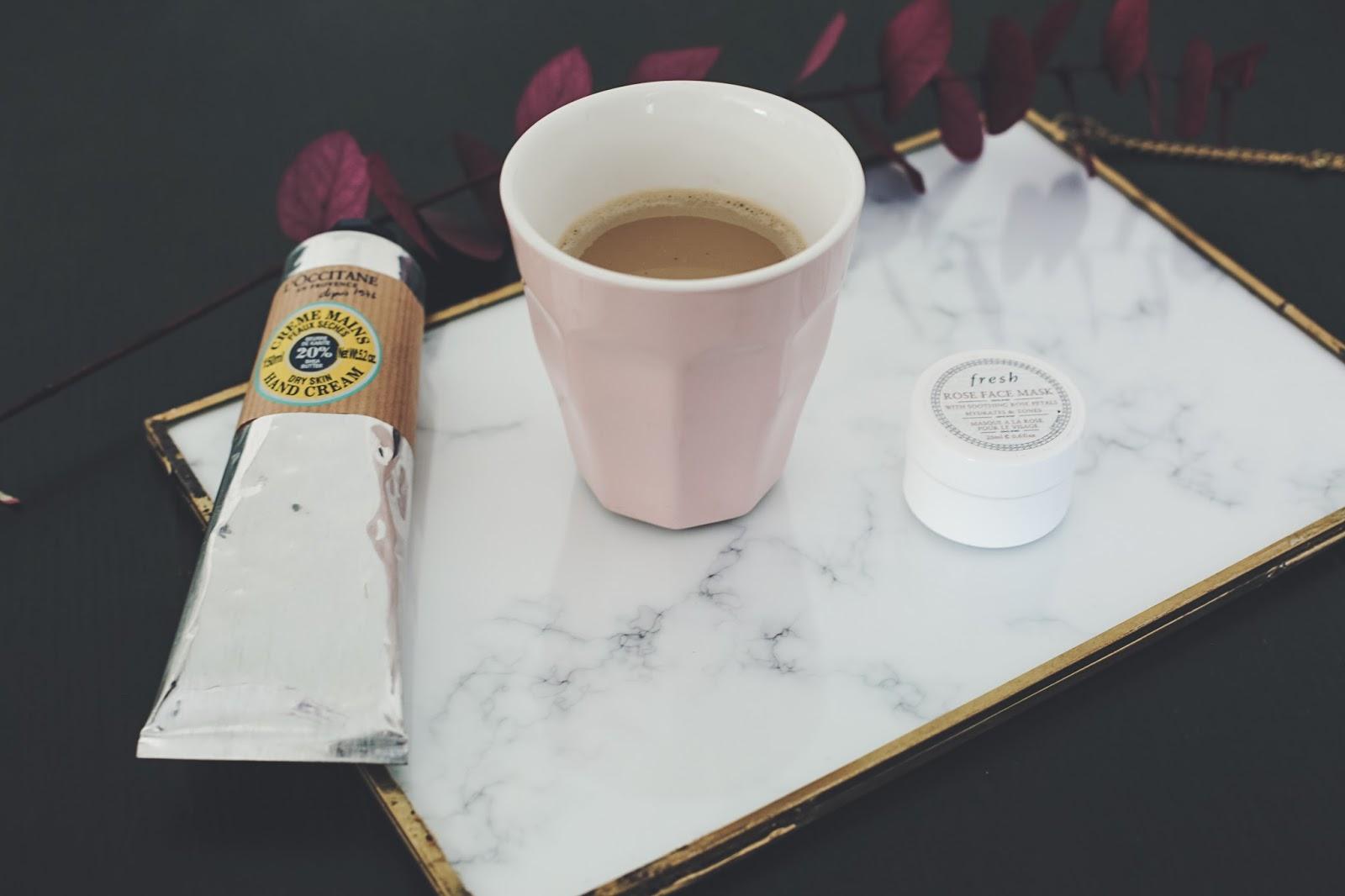 café lait d'amande