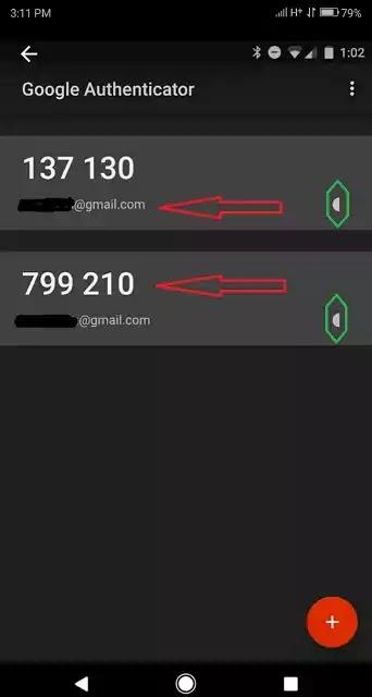 How to enter google authenticator code
