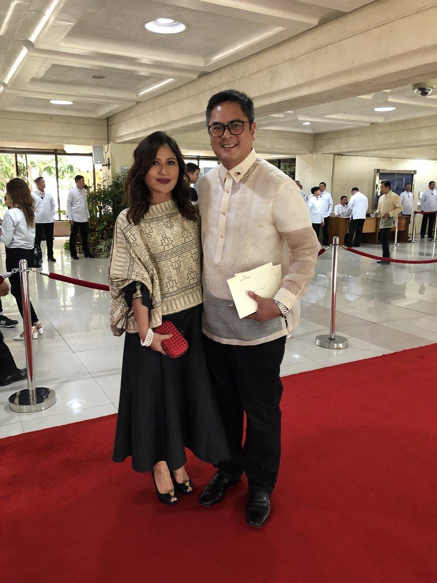 Sec. Martin Andanar in Barong Tagalog made of Tesoro