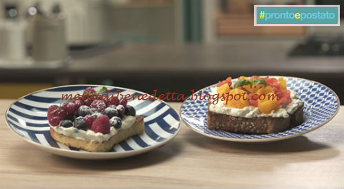 Pronto e postato - West Toast ricetta Benedetta Parodi