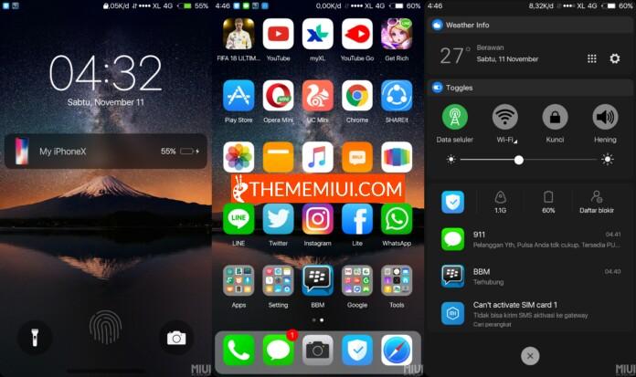 My iOS 11 Dark