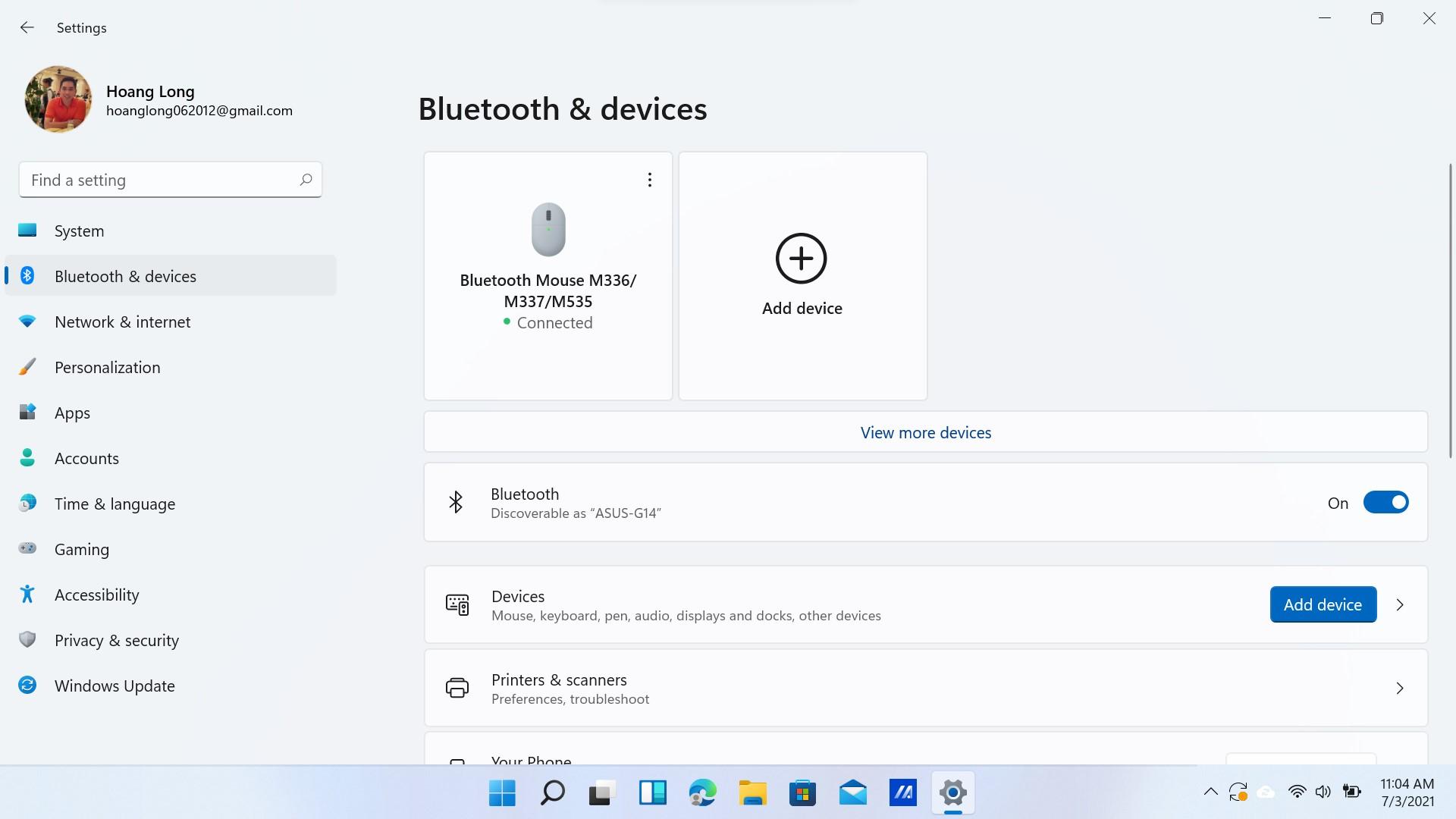 Cách kết nối chuột không dây bluetooth Logitech với máy tính