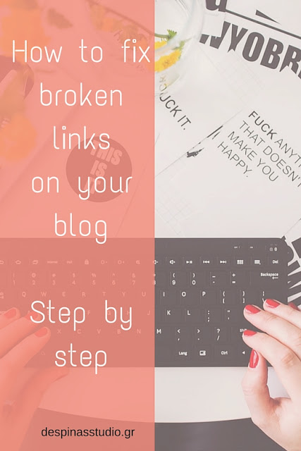 How to fix broken links on my blog or site