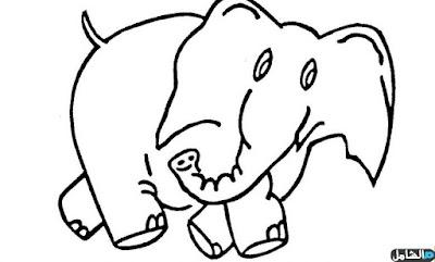 صور رسومات للتلوين احلي رسومات اطفال جديدة للتلوين 7