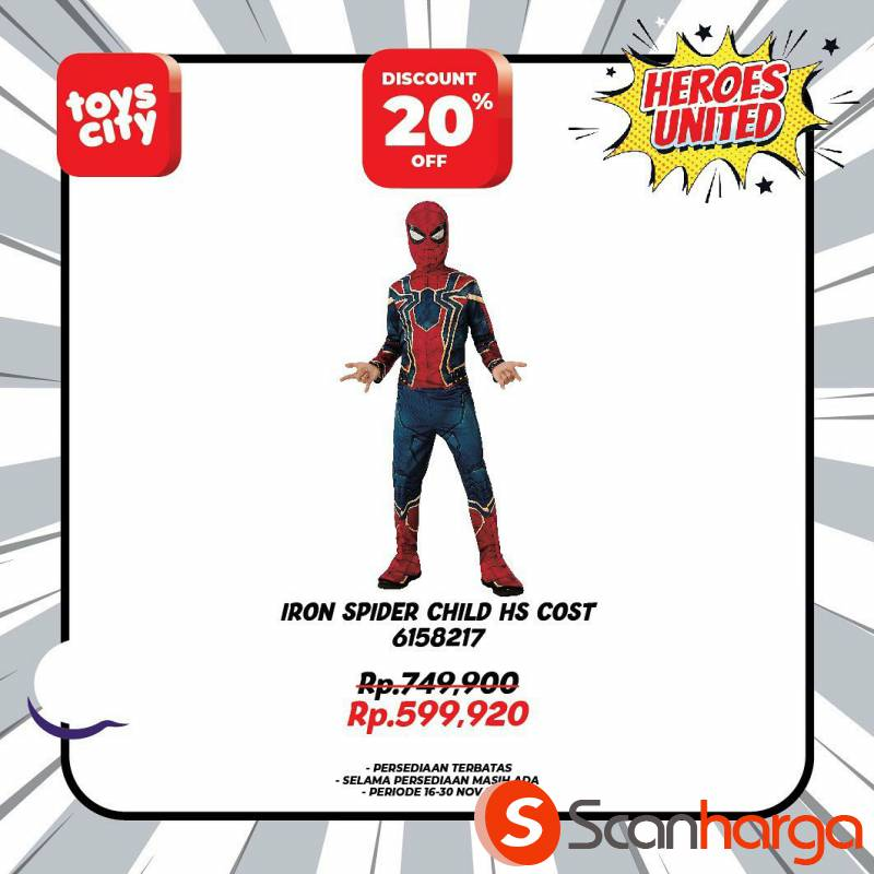 Promo Toys City Fantastic HEROES Collection Special Discount up to 50% 10