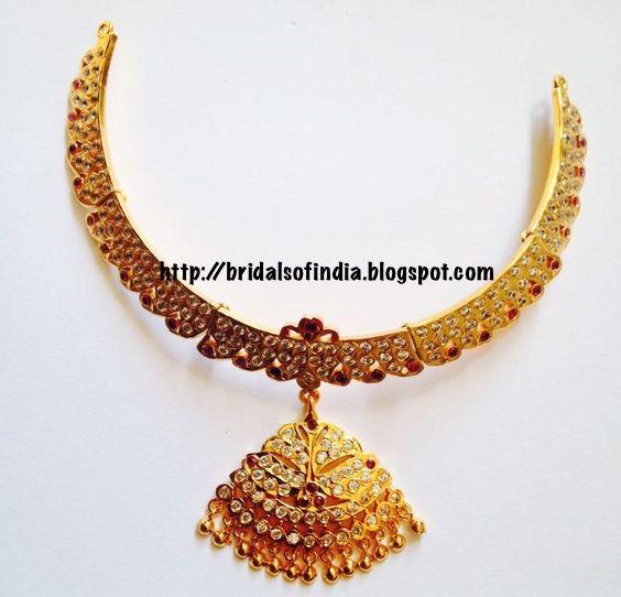 Bhima Jewellery Bands: Fashion World: Ruby And Gold Attigai Designs