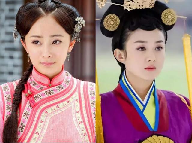 yang mi zhao liying yu zheng dramas
