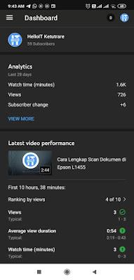 Tampilan YouTube Studio bisa Dark Mode, Begini cara Settingnya