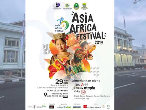 Jadwal Acara Event Asia Africa Festival 2019