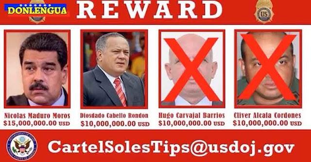 Solo faltan 2 delincuentes por capturar del Cartel de los Soles | Maduro y Diosdado