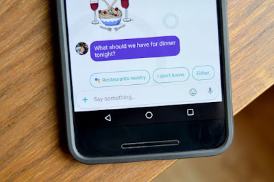 Goole Allo, Aplikasi Instant Messaging dengan fitur Quick Reply