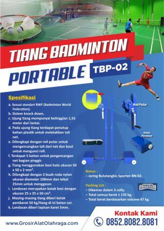 tiang badminton portable tbp-02