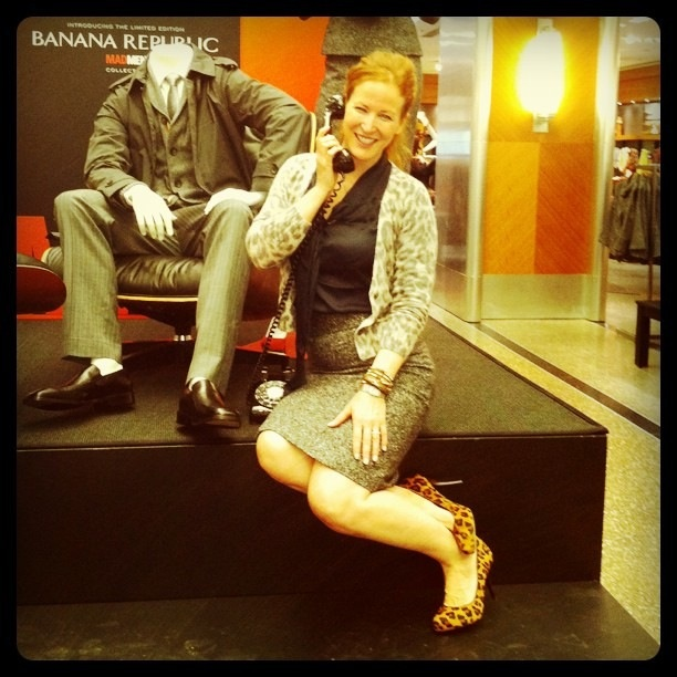 "Banana Republic""s Mad Men Collection"