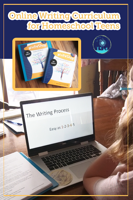 WriteShop offers online, video instruction which makes writing palatable for independent homeschool teens and parents!
