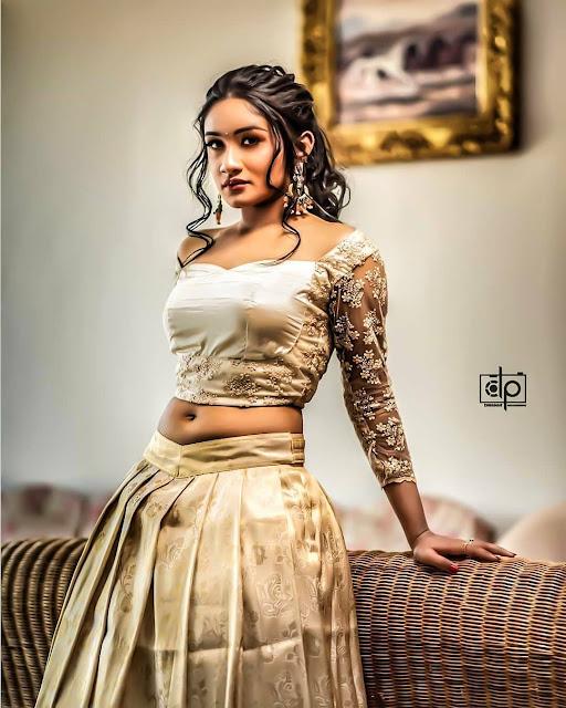 Tamil Serial Actress Hot Navel Photos