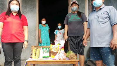 Pemdes Molompar Atas Anggarkan Pembelian Masker Untuk Warganya