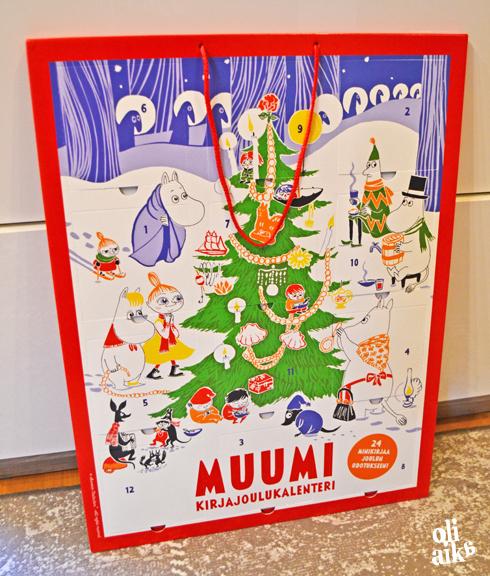 joulukalenteri muumi 2018 Oli aika: Jo jouluttaa joulukalenteri muumi 2018