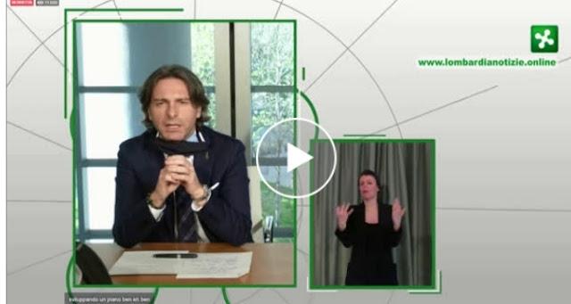 فيديو : مباشر بآخر تطورات انتشار فيروس كورونا بجهة لومبارديا