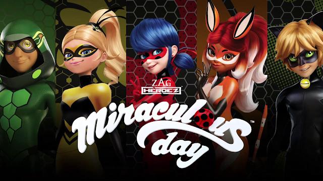 """Fãs de """"Miraculous: As Aventuras de Ladybug"""" poderão desfrutar de um dia inteiro dedicado à animação na programação do Gloob"""