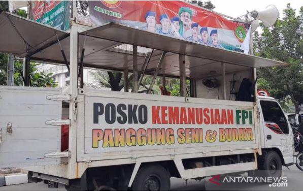 Mobil Komando Aksi 1812 Dibawa ke Polda Metro Jaya