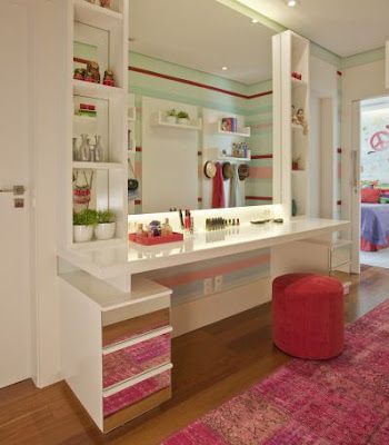large dressing table ideas for modern bedroom design