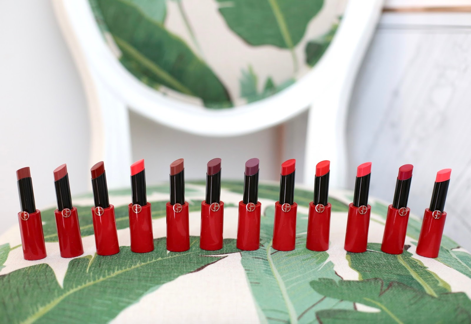 Armani Ecstasy Shine lipsticks