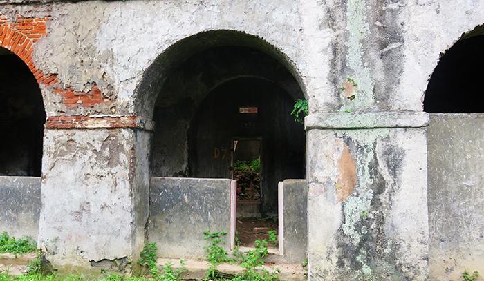 Bekas Ruang Penjara Benteng Pendem Ambarawa