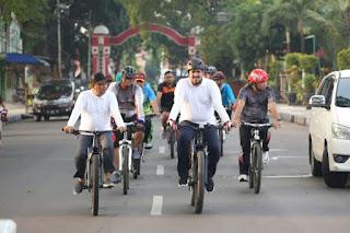 Walikota Habib Hadi Aktifkan Bike To Work