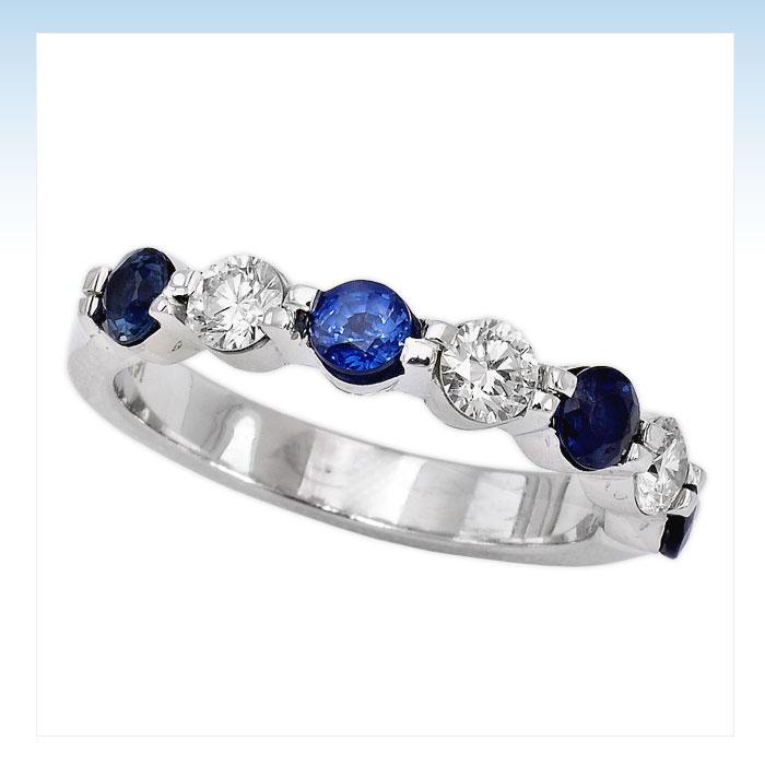 Diamond Engagement Rings 43ct Diamond Sapphire Women39s