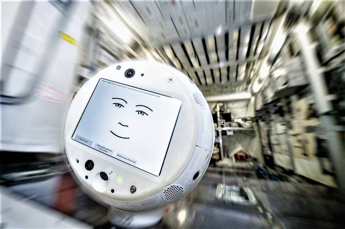 SpaceX sends a robot and mutant mice to the International Space Station, cimon robot.