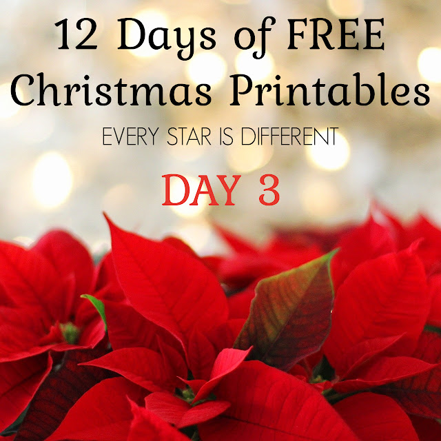 12 Days of FREE Christmas Printables: Fraction Reduction Chart