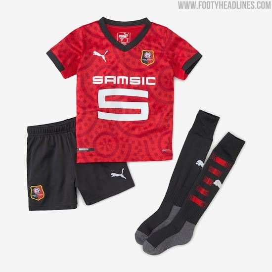Stade Rennais 20-21 Home & Away Kits Released - Footy Headlines