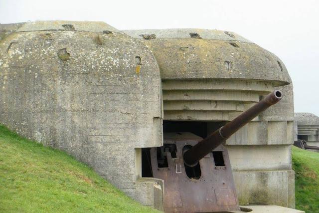 Paris to Normandy Road Trip: Longues-sur-Mer German Battery