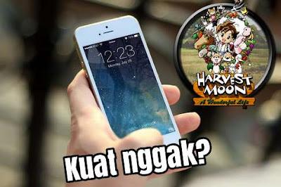 RAM untuk mengunduh dan bermain game Harvest Moon